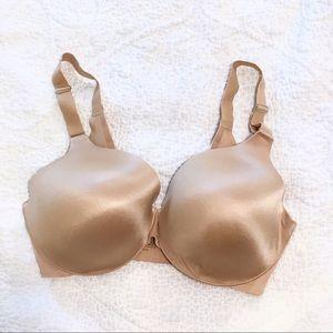 SOMA Vanishing Back Full Coverage Nude Bra 34DDD